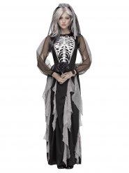 Skelet bruid outfit voor vrouwen