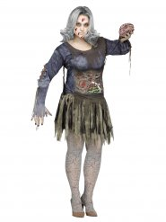 Zombie kostuum voor vrouwen - Grote Maten