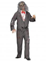 Zombie serveerder kostuum voor mannen