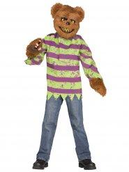 Bruine killer beer kostuum voor volwassenen