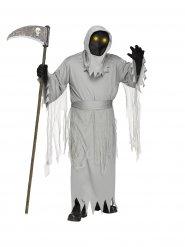 Grijs reaper kostuum voor volwassenen
