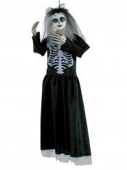 Weduwe Halloween skelet pop