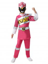 Roze Power Rangers™ kostuum met masker voor kinderen