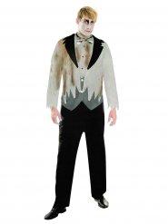 Zombie bruidegom kostuum voor mannen