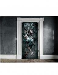Zombie deur decoratie