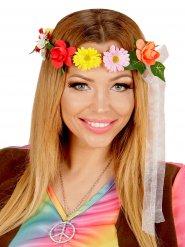 Hippie bloemen hoofdband