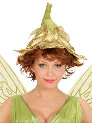 Goudkleurige fee muts voor vrouwen