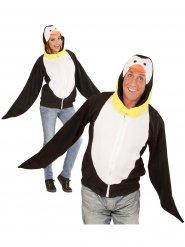 Wit en zwart pinguïn kostuum voor volwassenen