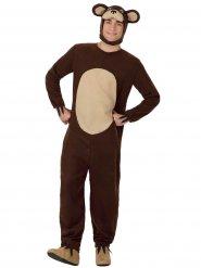 Bruin berenkostuum voor volwassenen