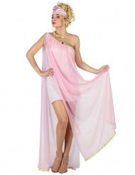 Lichtroze Romeins kostuum voor vrouwen