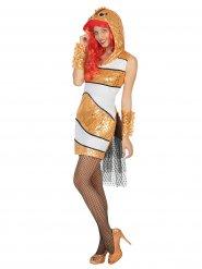Clownvis kostuum voor vrouwen