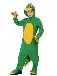 Groen dinosaurus kostuum voor kinderen