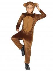 Bruin apen kostuum voor kinderen