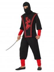 Ninja warrior kostuum voor mannen