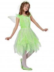 Lichtgroene fee prinses kostuum voor meisjes