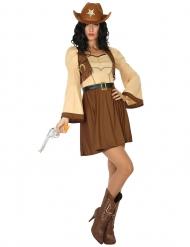 Far West cowgirl kostuum voor vrouwen