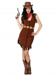 Sexy western cowgirl kostuum voor vrouwen
