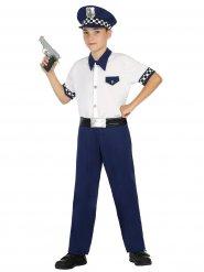 Politie officier kostuum voor kinderen