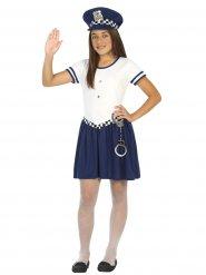 Politie agent kostuum voor meisjes