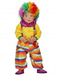 Circusclown kostuum voor baby's