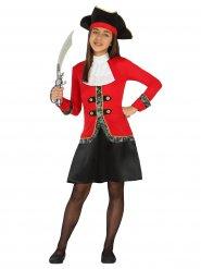 Boekanier piraten kostuum voor meisjes