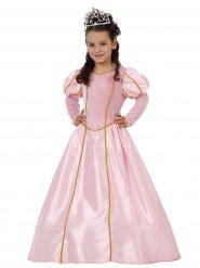 Roze en goudkleurige magische prinsessen jurk voor meisjes