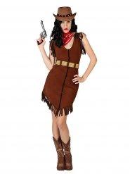 Cowboy kostuum voor dames
