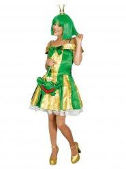 Kikker prinses kostuum voor vrouwen