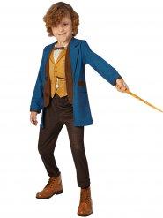 Luxe Fantastic Beasts Newt Scamander kostuum voor kinderen