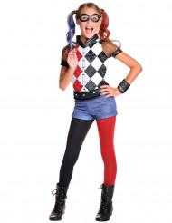 Harley Quinn™ Superhero Girls™ luxe kostuum voor meisjes