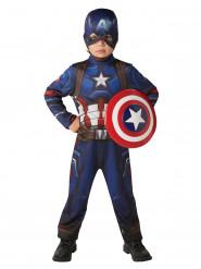 Captain America Civil War™ kostuum met schild voor kinderen