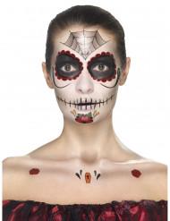 Dia de los Muertos prinses schmink set voor vrouwen