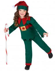 Kerstelf outfit voor kinderen