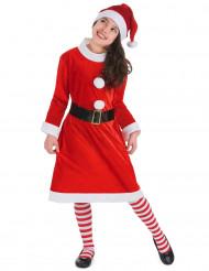 Kerstvrouw kostuum voor meisjes