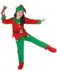 Kerstelf kostuum voor kinderen