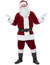 Super deluxe kerstman kostuum voor volwassenen