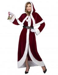 Deluxe Kerstvrouw kostuum voor volwassenen