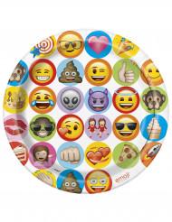 8 Emoji™ borden van karton