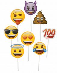 8 Emoji™ foto accessoires