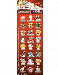 Set 24 Emoji™ stickers