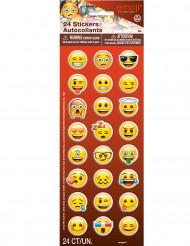 Stickervel met 24 Emoji™ stickers