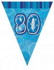 80 jaar verjaardagsslinger
