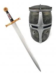 Ridder helm en zwaard voor kinderen
