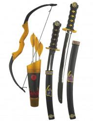 Ninja accessoires set voorkinderen