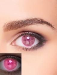 Roze UV contactlenzen voor volwassenen