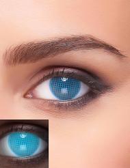 Blauwe lenzen met UV