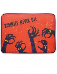 Halloween zombie deurmat met licht en geluid
