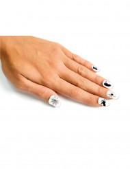 Witte nep nagels voor volwassenen