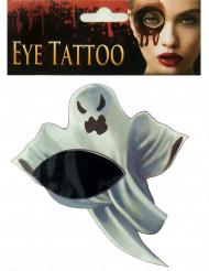Neppe spook oog tatoeage voor volwassenen
