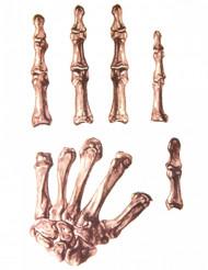 Skelet hand tatoeages voor volwassenen